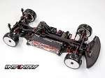 IF14-II 1/10 EP TOURING CHASSIS KIT (Carbon Chassis Edition)