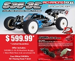 S35-3E 1/8 BrushLess Pro Buggy w/ New Wide Rear Conversion Promo