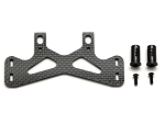 FRONT BODY MOUNT SET (CARBON GRAPHITE)