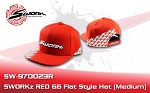 G5 Flat Style Cap red