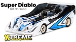 SUPER DIABLO ULTRA LIGHT INFINITY RC MODEL BODY