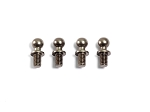 ALU BALL END 4.3x10mm (4pcs)