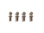 ALU BALL END 4.3x11.8mm (4pcs)