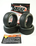 TPRO 1/8 OffRoad KEYLOCK Racing Tire & Insert (XR T2 - Medium)(4)