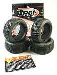 TPRO 1/8 OffRoad HARPOON Racing Tire & Insert (XR T2 - Medium) (4)