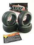 TPRO 1/8 OffRoad MEGABLOCK Racing Tire & Insert (XR T2 - Medium)(4)
