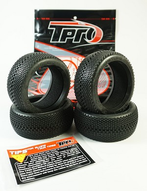 TPRO 1/8 OffRoad HARABITE Racing Tire & Insert (XR T4 - Super Soft) (4)