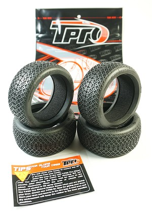 TPRO 1/8 OffRoad MATRIX Racing Tire & Insert (XR T2 - Medium) (4)