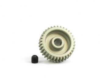64P Aluminum Hard-Anodized Pinion | 38T