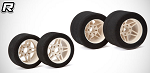 Matrix 1/8 PRECISION On-road 32 Front 35 Rear  (4 Sets) (16 Tires)