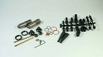 S35-3 series L-BBS Rear Shock Set with Emulsion Shock Cap